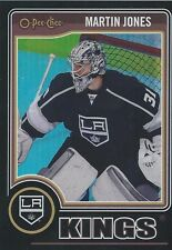 2014-15 O PEE CHEE OPC Martin Jones Black Rainbow #203 Los Angeles Kings 062/100