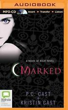 House of Night: Marked 1 by P. C. Cast and Kristin Cast (2014, MP3 CD,...