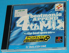 BeatMania Append 4rd Mix - Sony Playstation - PS1 PSX - JAP Japan