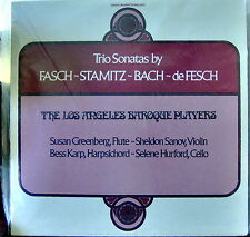 Trio Sonatas by Fasch, Stamitz, Bach, de Fesch   Crystal Sealed