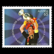 Austria 2008 - Football Spain European Champions Soccer Sports - Sc 2178 MNH