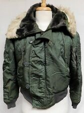 Vintage Military Issue N-2B Flying Jacket Parka ALPHA INDUSTRIES Scovill Mens M
