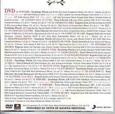rare DVD PROMO ONLY Bolero TANIA LIBERTAD Guadalupe Pineda EUGENIA LEON ojala