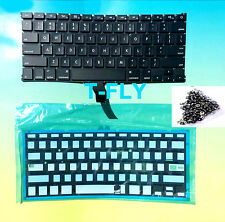 "NEW US KEYBOARD MacBook Pro Retina 13"" A1502 2013 2014 2015+ Backlight+ Screws"