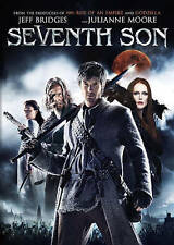 Seventh Son DVD disc/case/imperfect cover only- previously viewed Moore Bridges