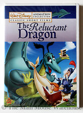 The Reluctant Dragon Short Ferdinand Appleseed Silly Symphonies Disney Cartoons