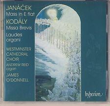 Kodaly: Missa Brevis, Janacek: Mass in E flat - O'Donnell (Hyperion) Like New