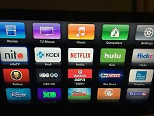 Apple TV 2 jailbreak Service - Fully Loaded Kodi XBMC - Exodus, Phoenix Etc