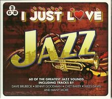 I JUST LOVE JAZZ - 3 CD BOX SET - DAVE BRUBECK * CHET BAKER & MORE