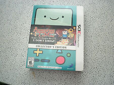 Adventure Time Explore the Dungeon Nintendo 3DS Collector's Edition new sealed