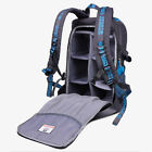 Deluxe Camera Backpack Pro Waterproof Bag Case For Canon Nikon DSLR SLR Blue
