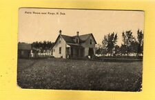 Fargo,ND North Dakota Farm House near used 1912