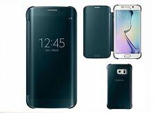 D'origine Samsung Galaxy S6 Edge Vue Claire étui à clapet EF-ZG925