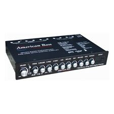 American Bass AB7BV High End 7 Band Equalizer Voltage Display