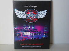 """*****DVD-REO SPEEDWAGON""""LIVE IN THE HEARTLAND""""-2008 Sound Stage*****"""