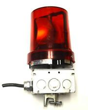 FEDERAL SIGNAL CORP. 121S VITALITE ROTATING WARNING LIGHT 0.36 AMPS 120 VOLTS