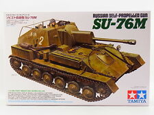 LOT 16734 | Tamiya 35348 Russian Self-propelled Gun SU-76M 1:35 Bausatz NEU OVP
