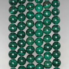 8MM  MALACHITE LACE JASPER GEMSTONE GRADE AA  ROUND LOOSE BEADS 16""