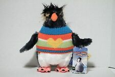 "Happy Feet Two Movie 8"" Mini Lovelace Build A Bear Plush Toy Doll Penguin NEW"