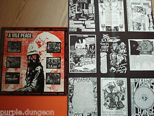 A VILE PEACE - LP → Axegrinder  Electro Hippies  Bedlam  Doom  Sore Throat