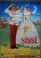 SISSI FACE A SON DESTIN Affiche Cinéma / Movie Poster 160x120 ROMY SCHNEIDER