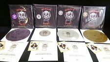 MOTORHEAD - OVERKILL Limited Edition Etched 7 inch Vinyl Record Lemmy