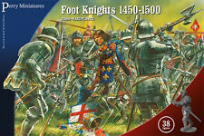 ** neuf ** perry miniatures foot knights 1450 - 1500