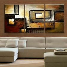 3Pcs Modern Canvas Abstract Oil Painting Print Art Wall Home Decoration No Frame