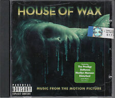 House of Wax Film Soundtrack CD NEW Prodigy Deftones Marilyn Manson Joy Division