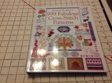 CROSS-STITCH PATTERNS Donna Kooler HARDCOVER Book 999 Fabulous Cross Stitch