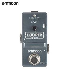 ammoon AP-09 Looper Nano Loop Electric Guitar Effect Pedal 10min Recording Z4G9