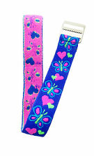 Timex Youth T89001 Hearts & Butterflies Replacement Elastc-Fabric Watch Band