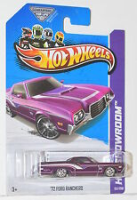 HOT WHEELS 2013 HW SHOWROOM '72 FORD RANCHERO SUPER TREASURE HUNT