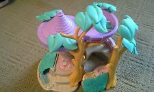 1996 Fisher Price Hideaway Hollow Rabbit Bunny Tree House
