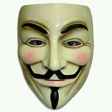 V per Vendetta MASCHERA Adulto Uomo Guy Fawkes Anonymous USA occupare Halloween Costume