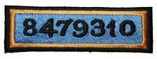 Blade Runner 8479310 Badge Embroidered Patch Sew / Iron-on 9.5cm