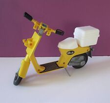 Sindy doll Motorcycle Moped Scooter yellow Pedigree vintage 1970s retro