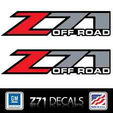 (2) Z71 Off Road Die Cut Full Color Decals Stickers, Truckbed graphics, 3M Vinyl