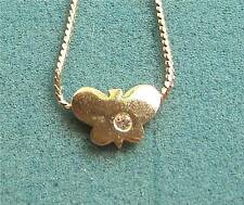 "16"" Butterfly Pendant Necklace ""WINDY"" Sarah Coventry Jewelry - Sara Cov - Vtg"