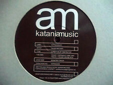"XAVIER MATHIAS - CONDITION OF THE PAST EP 12"" RECORD / VINYL - KATANIA MUSIC"