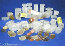 5 COINSAFE COIN TUBES  MIX & MATCH SIZES