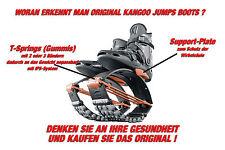 ORIG. KANGOO JUMPS XR3 Springschuhe BLACK/ORANGE Gr. S (passend für 36,5-38,5)