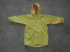 The Children's Place Girl Raincoat Yellow with Hearts Girls Size 3T Lined