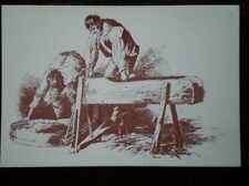 POSTCARD SOCIAL HISTORY RURAL INDUSTRY IN 19TH CENTURY - CHAFF CUTTERS