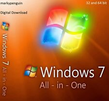 Windows 7 Todo en Uno 32 & 64 bits ISO Descarga Digital-no clave de activación