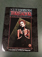 Clanbook  Toreador    World of Darkness   White Wolf 2056