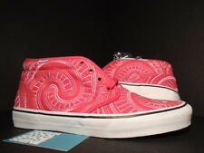 2014 VANS CHUKKA BOOT SUPREME SPIRAL RED WHITE BLACK VN-0SCVEFX NEW 8.5