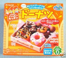 Kracie Popin Cookin Happy Kitchen Donuts Making Kit Japanese Candy Doughnuts New