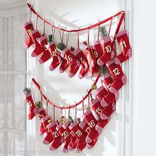 Adventskalender Socken mit Spielzeug Füllung Weihnachten Advent Socken Befüllt