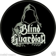BLIND GUARDIAN EMBROIDERED PATCH HEAVY HAMMERFALL SPEED BATTLEFIELD Metal Negro
